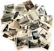 MIXED LOT OF 69 WWII ERA PHOTOS BOTH NAZI AND US