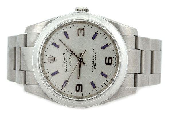 MENS ROLEX OYSTER PERPETUAL AIR KING WRISTWATCH