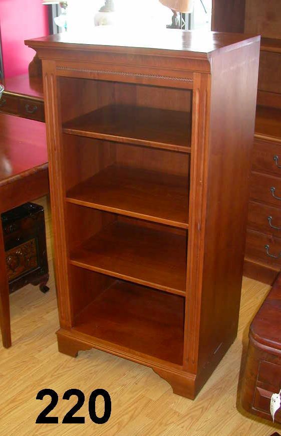 ETHAN ALLEN BOOKCASE DISPLAY CABINET COUNTRY CRO