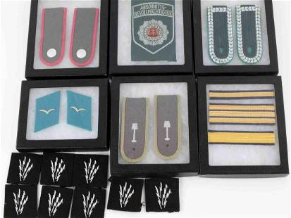 WWII THIRD REICH GERMAN MILITARY PATCHES LOT 12