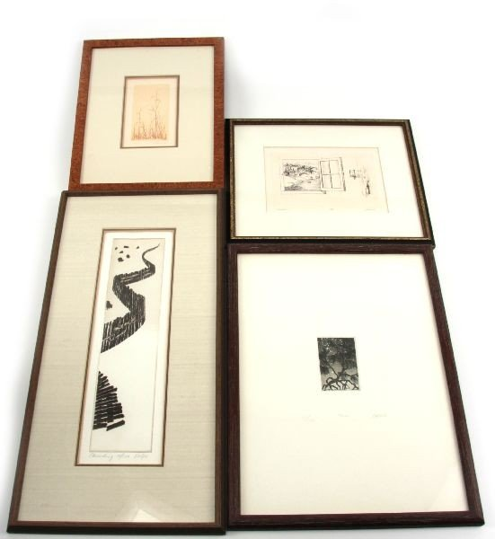 FINE ETCHINGS AND ENGRAVINGS VOLPE, HOGG,LESSNICK
