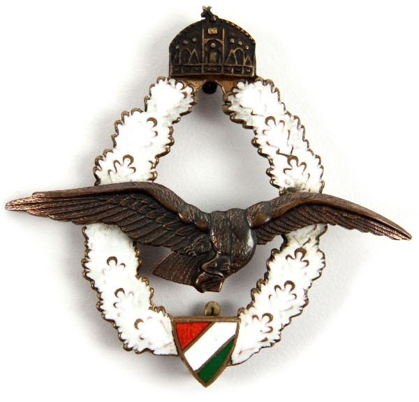 5: WWI HUNGARIAN PILOT OBSERVER BADGE