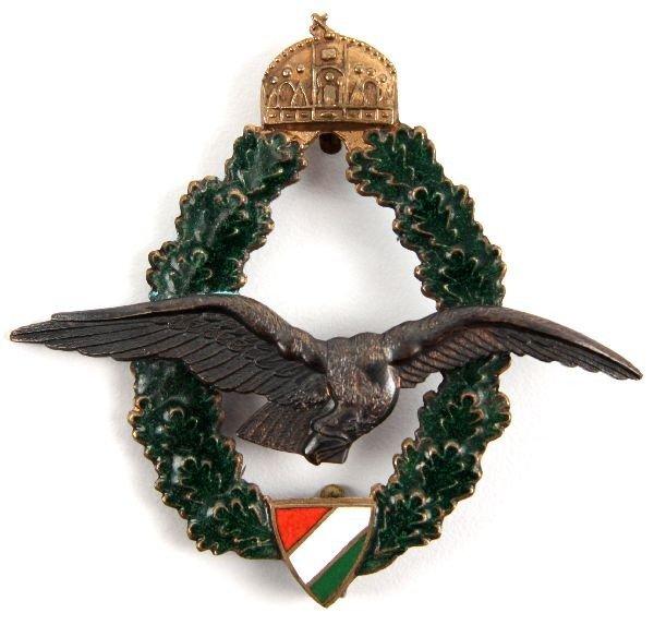 7: WWI HUNGARIAN FIELD PILOTS BADGE