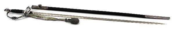 202: CONTEMPORARY SWISS DRESS SWORD