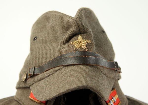 390: WWII JAPANESE ARMY MEDIC 1ST LT UNIFORM W/ VISOR - 4