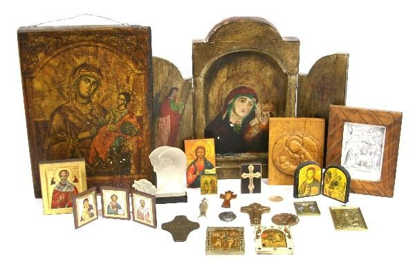 2023: 20TH C. COLLECTION OF RELIGIOUS ICONS