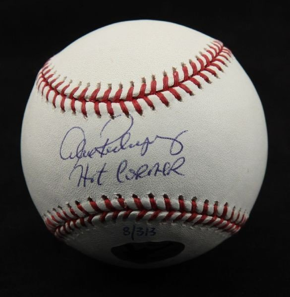 ALEX RODRIGUEZ SIGNED BASEBALL WITH CERTIFICATE