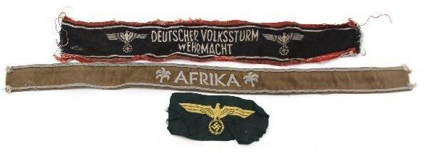 5226: WWII THIRD REICH CLOTH INSIGNIA