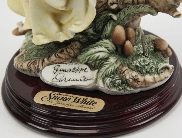 GIUSEPPE ARMANI SNOW WHITE W/ BLUEBIRD FIGURINE - 3