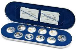 CANADA PIONEERS POWERED FLIGHT 10 OZT SILVER SET