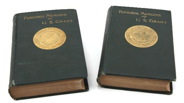 1ST EDITION 2 VOLUME MEMOIRS OF U.S. GRANT 1885
