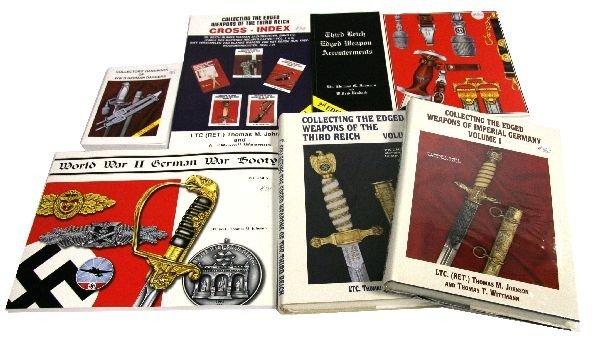 6 WWII GERMAN SWORD & DAGGER COLLECTOR BOOKS