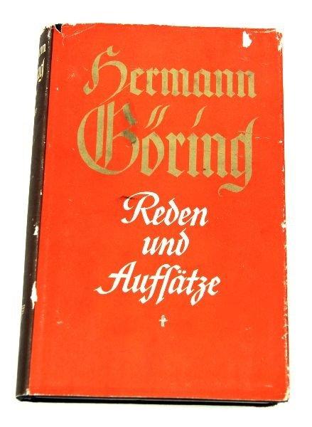 HERMANN GORING REDEN UND AUFLATZ W/ SIGNATURES