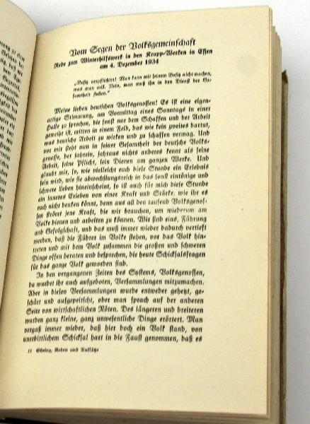 HERMANN GORING REDEN UND AUFLATZ W/ SIGNATURES - 3