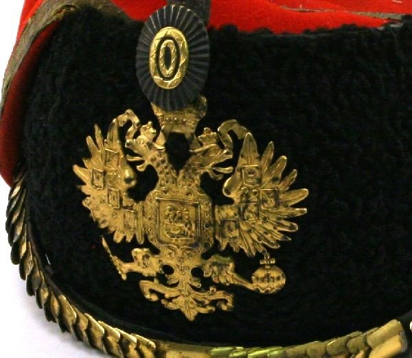 TSAR NICHOLAS II GUARD HUSSAR WOOL MUSEUM HAT - 2