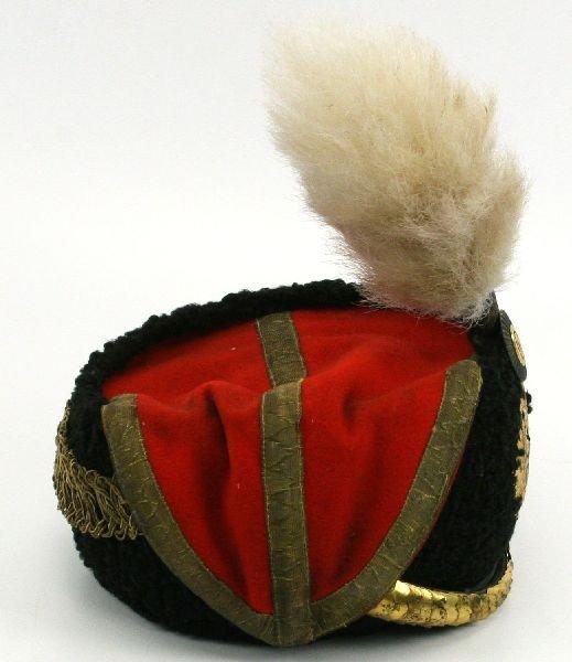 TSAR NICHOLAS II GUARD HUSSAR WOOL MUSEUM HAT - 5