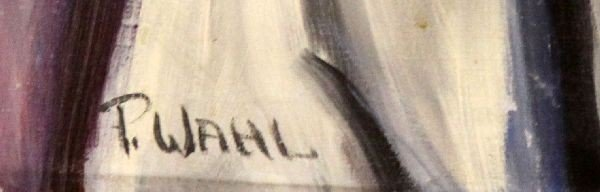 ORIGINAL PORTRAIT OF GAR WOOD BY PAT WAHL - 4