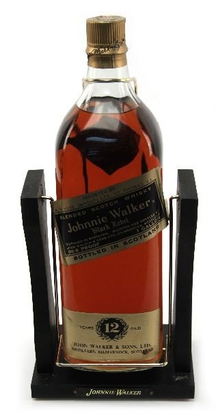 Black Label Price >> Sealed Gallon Of Johnnie Walker Black Label Scotch Mar 6 2011
