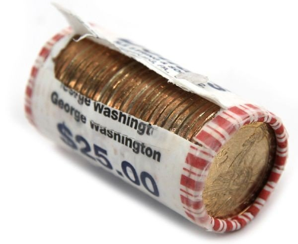 BANK ROLL OF RIM ERROR WASHINGTON DOLLARS