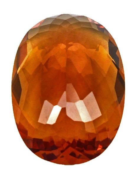 RARE 317 CT MUSEUM SIZE OVAL CUT CITRINE