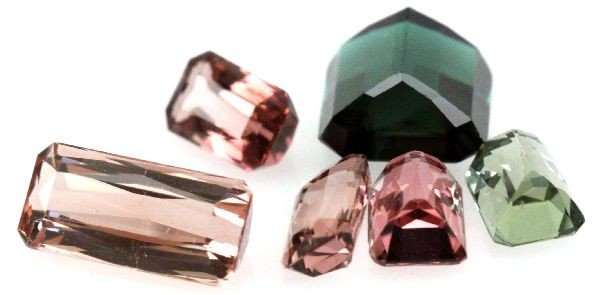 DEALERS LOT OF 6.15 CTW MIXED TOURMALINE