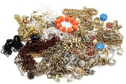 LOT OF LADIES COSTUME JEWELRY DIOR MONET HASKELL