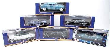 6 DIE CAST 1:18 MAISTO SPECIAL EDITION MODEL CARS