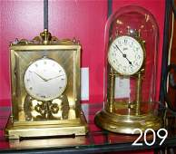 60209: ANTIQUE GERMAN SCHATZ ANNIVERSARY CLOCK LOT OF 2