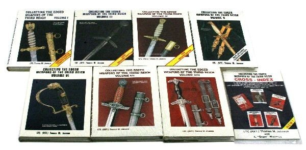 WWII GERMAN EDGED WEAPON REFERENCE BOOK LOT