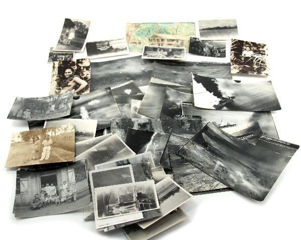 RARE WWII HOLLANDIA B26 ORIGINAL COMBAT PHOTO LOT