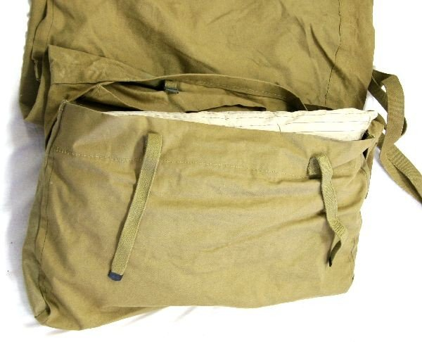 US ARMY MODEL 1935 BEDROLL OFFICERS WWII COT COVER - 2