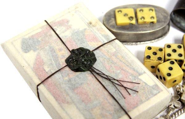 19TH CENTURY GAMBLER'S KIT WITH REMINGTON PISTOL - 6