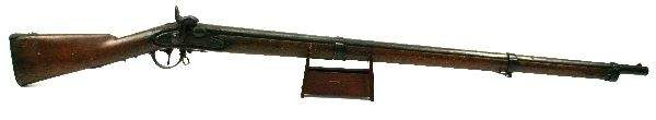UNMARKED CIVIL WAR ERA PERCUSSION MUSKET
