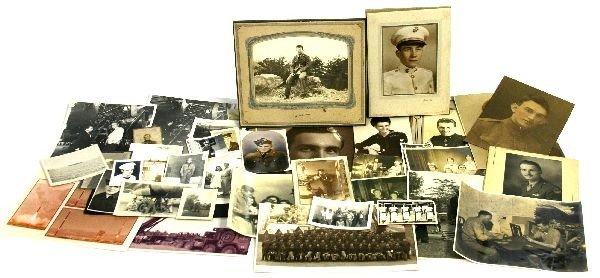 USN USMC MULTI-WAR MILITARY FAMILY PHOTO ARCHIVE