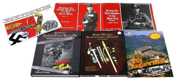 COLLECTION OF GERMAN THIRD REICH REFERENCE BOOKS
