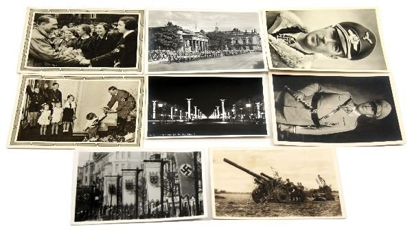 GROUPING OF 8 RARE WWII GERMAN POSTCARDS