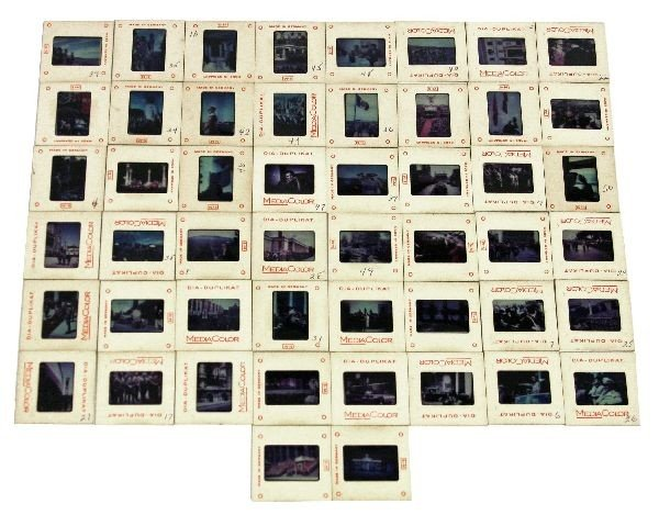 50 WWII GERMAN EARLY COLOR PHOTO SLIDES
