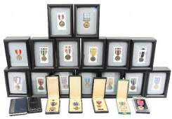 LARGE LOT US ARMED FORCES MEDALS WWII - IRAQ
