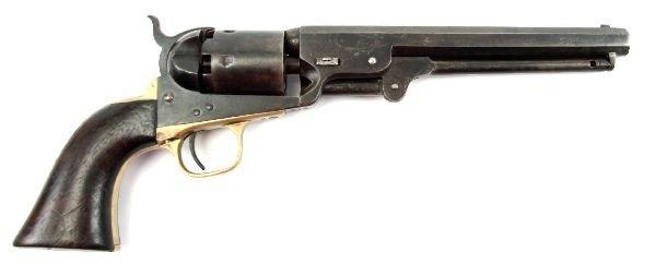 COLT MODEL 1851 NAVY REVOLVER MANUFACTURED 1863