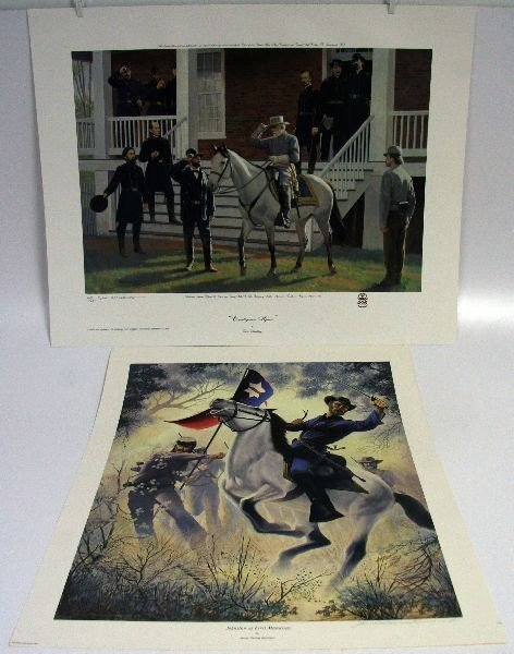 TWO CIVIL WAR LIMITED EDITION PRINTS
