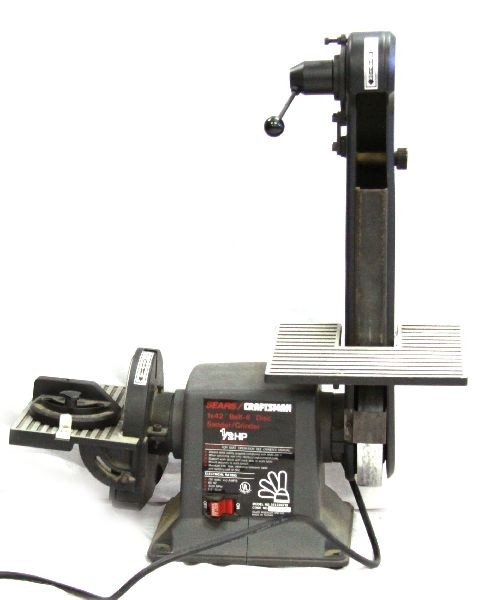 craftsman belt and disc sander. sears craftsman 6 inch disc sander / grinder craftsman belt and disc sander