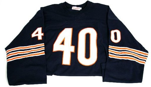 5e72e076 GALE SAYERS 1965 CHICAGO BEARS THROWBACK JERSEY - Aug 14, 2011 ...