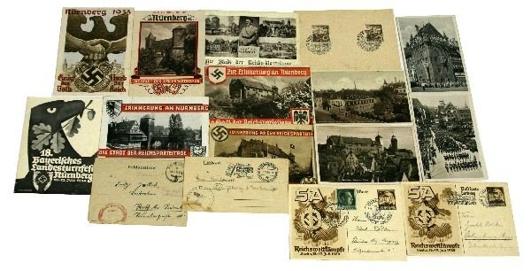 GERMAN WWII PROPAGANDA POSTCARD LOT