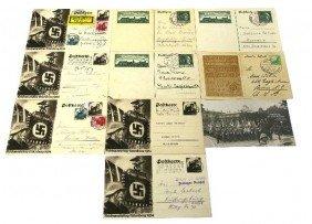 WWII THIRD REICH PROPAGANDA POSTCARDS NURNBERG