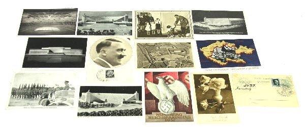 WWII GERMAN PROPAGANDA POSTCARDS LARGE LOT
