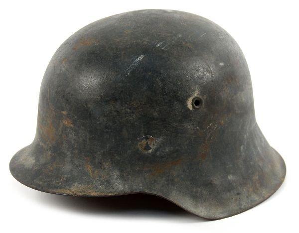 GERMAN WWII LOFT M-42 COMBAT HELMET
