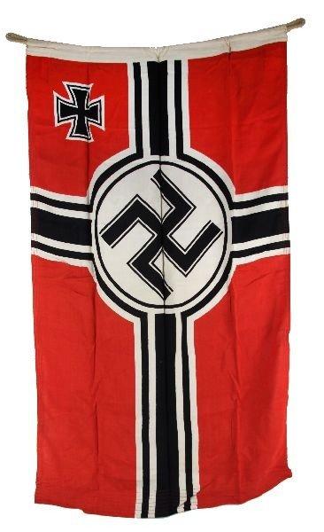 WWII GERMAN KRIEGSMARINE U-BOAT FLAG