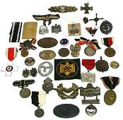 UNSEARCHED MIXED BAG WWII GERMAN INSIGNIA