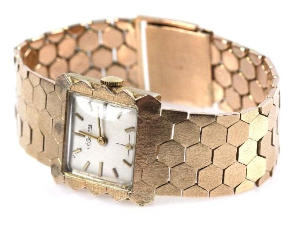 LADIES 14K GOLD JAEGER LECOULTRE WATCH