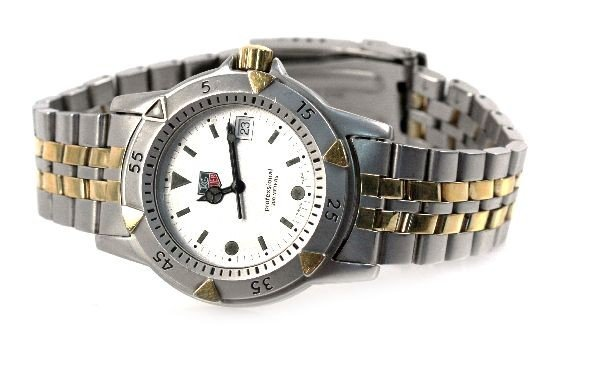 MENS TAG-HEUER PROFESSIONAL 200 WATCH TWO-TONE